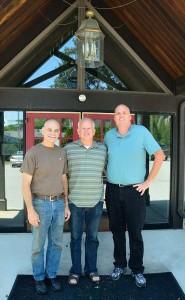 Steve, Pastor Roger VanDerWerken & Me